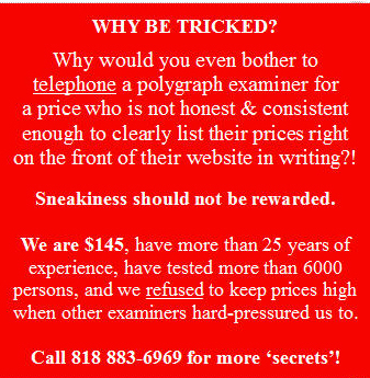 Ventura polygraph secret prices